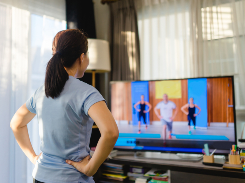 Virtual Group Workouts at Home