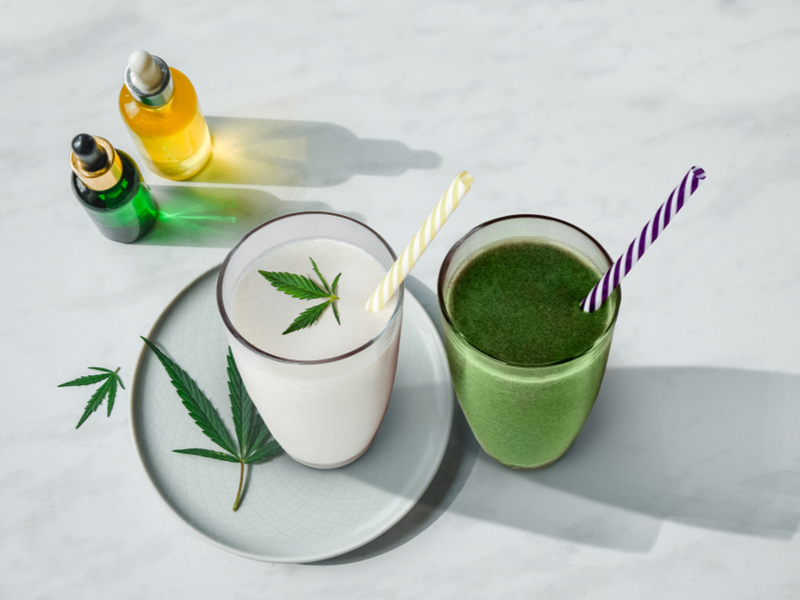 Fruity Healthy CBD Smoothie